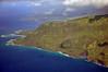 Northern shore of Kauai, nearing Hanalei Bay.