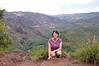 Wendy at the last stop while leaving Waimea Canyon in Kauai.