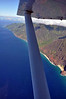 Our pilot kindly rotated the plane at strategic locations to provide every passenger a perfect view of Kauai.