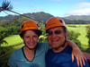The eco-adventurers, Wendy and Rick are all smiles. This was very fun.