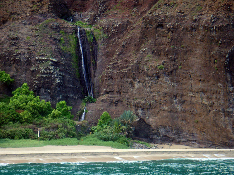 Na Pali Coast of Kauai (Hawaii).