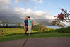 Rick and Wendy in Princeville, Kauai (Hawaii).