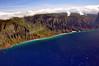 Na Pali coast of Kauai.
