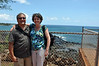 Rick & Wendy at Spouting Horn, Kauai.