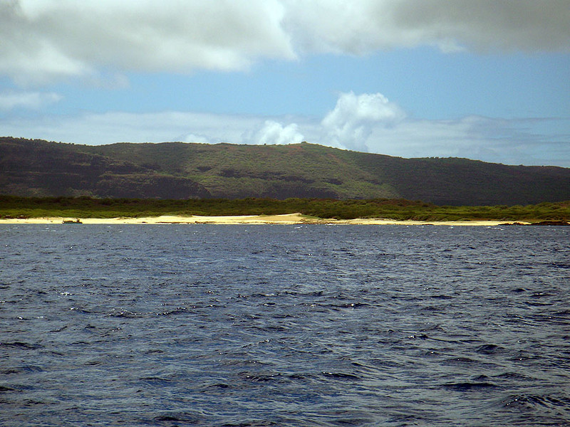 One last look at Nii Hau, the smallest of the inhabited islands at only 70 square miles.