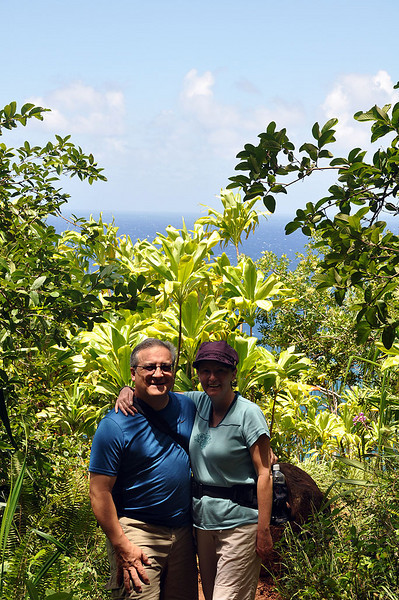 Our final turn around point on the Kalalau Trail.