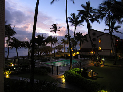 The sunrise from our Lani