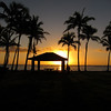 Sunrise on the Beach in Kapa'a