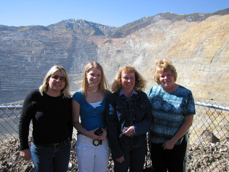 Ladies at the mine