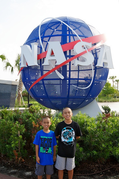 After the Disney cruise, we headed over to the Kennedy Space Center