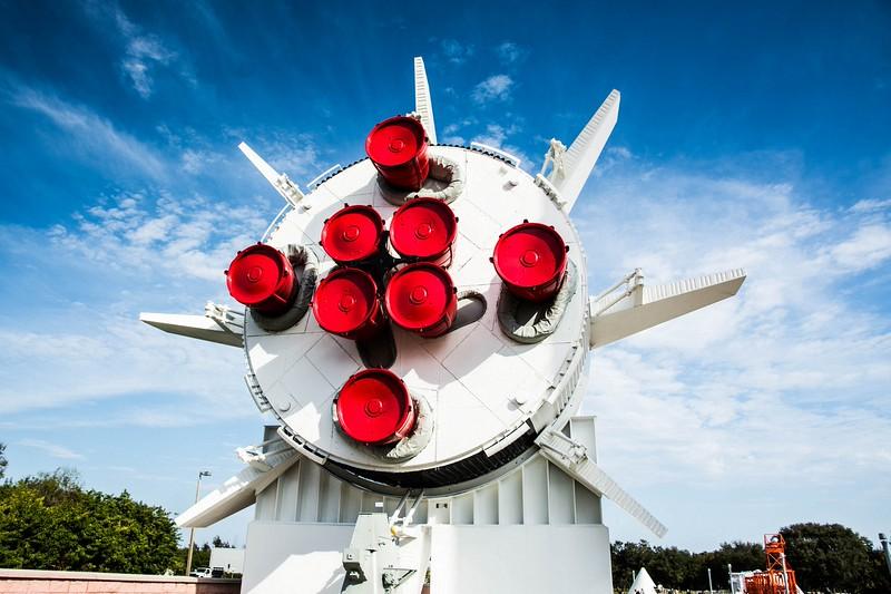 Saturn 1B Rocket - Bottom end of 1st Stage