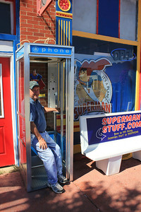 September 23, 2013 - (Museum Store [Clark Kent's telephone booth] / Metropolis, Massac County, Illinois) -- David
