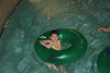 Nate in the lazy river
