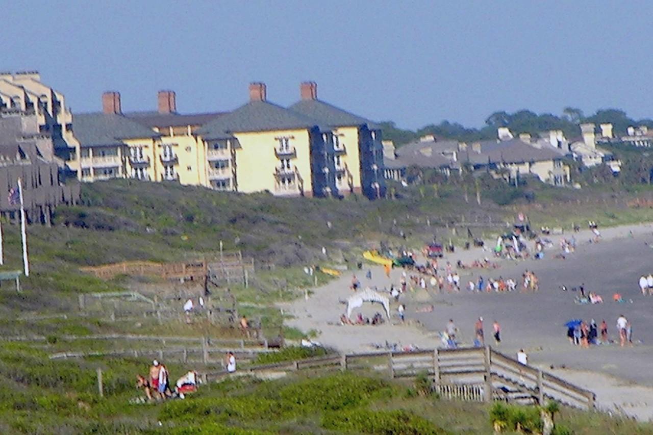 August 2004 - looking east