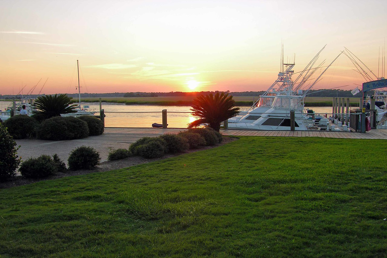 August 2004 - sunset at Seabrook