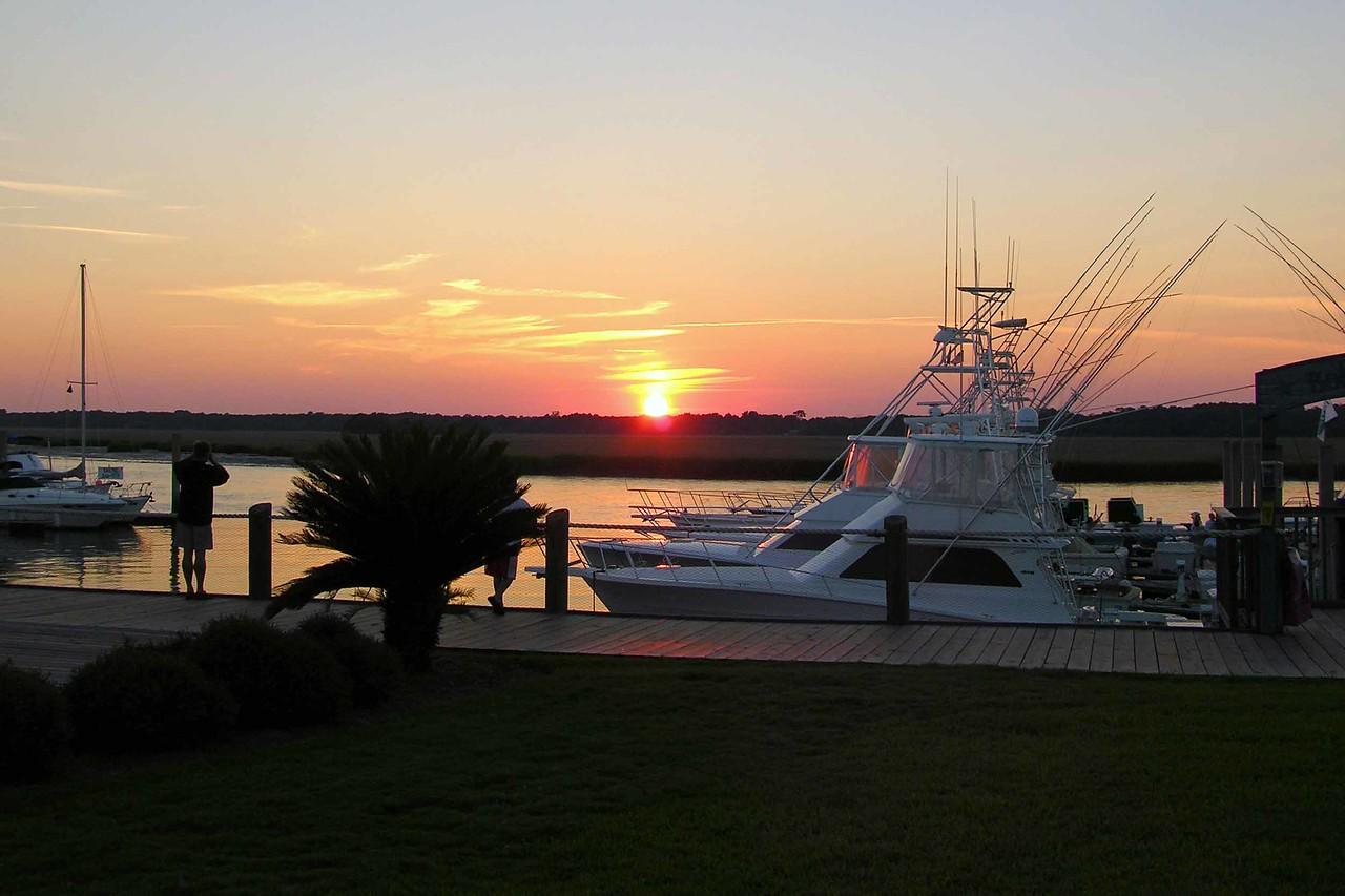 August 2004 - sunset