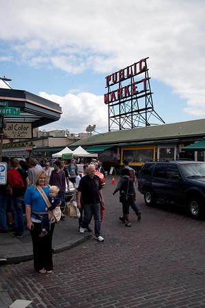 Pikes public market place, Seattle WA