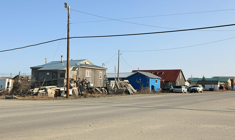 "Almost everyone in Kotzebue has lots of ""stuff"" outside their homes."