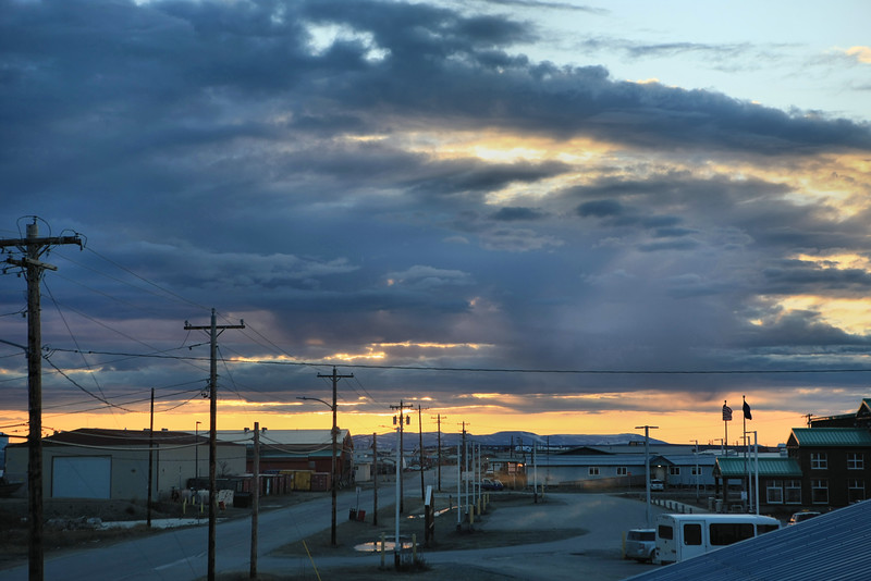 Our last morning in Kotzebue