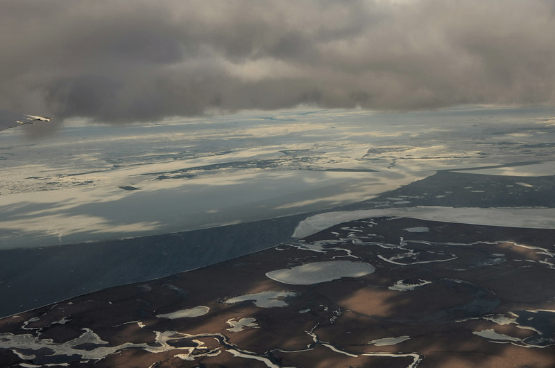 As the oceans continue to rise, the land Kotzebue is on will likely become an island instead of a peninsula.