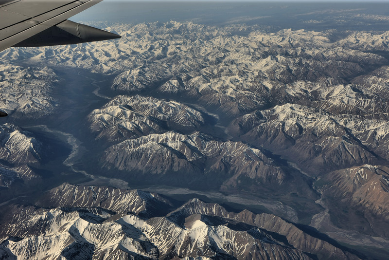 The mighty Alaska Range