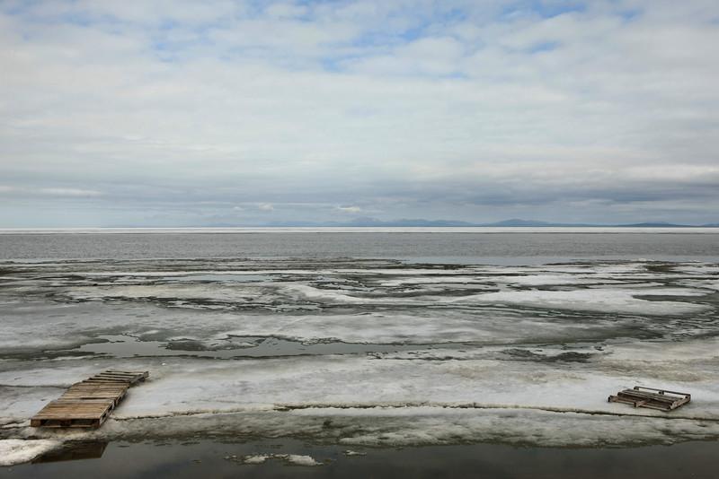 Chukchi Sea, breaking up