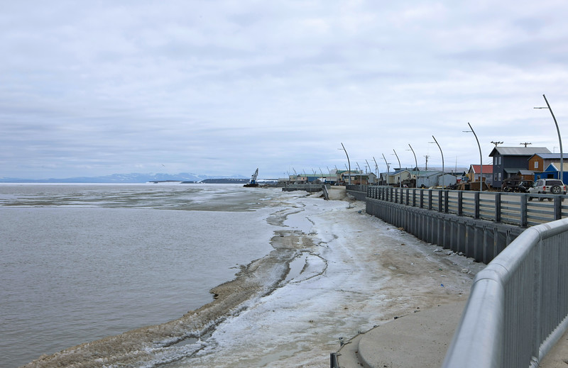 The Kotzebue water front