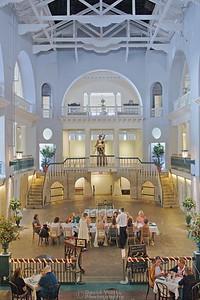 The Historic Alcazar Pool Cafe Alcazar