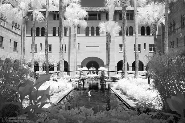 Hotel Alcazar Courtyard, Infrared
