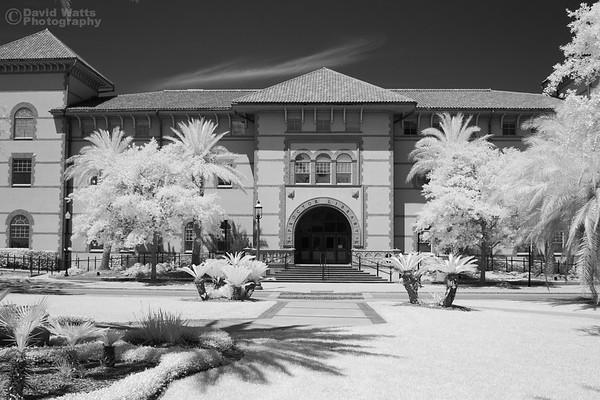 Flagler College Proctor Library, Infrared