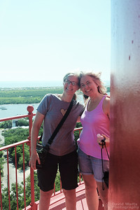 Heather and Diana at the St. Augustine Lighthouse