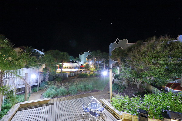 Ocean Gate Resort at Night