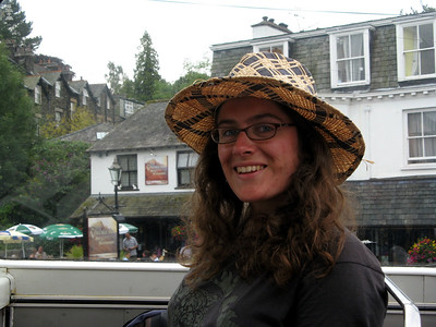 We rode a double-decker bus to Grasmere.