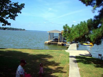 Lake Livingston---July 29, 2008-----Carolyn and Bridge Friend