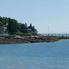View from the sand in Pemaquid Beach, Bristol ME....