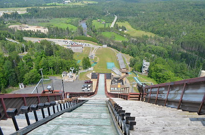 Who wants to go first off the 120m ski jump?