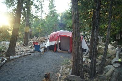 Our campsie in Yosemite