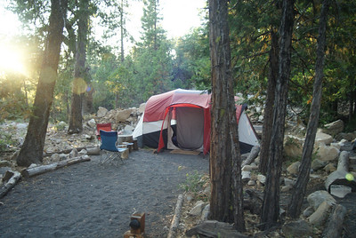 Our campsie in Yosemite
