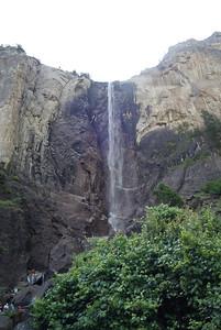 Bridalveil Falls in Yosemite