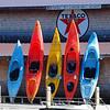Kayaks on Squam Lake