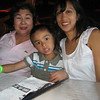 <center>First dinner..Friday night..with Lola (grandma)</center>