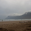 Einsamer Surfer am Famara Strand