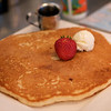 <center>the $2.95 kids' pancake..the size of a small tire</center>