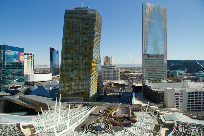 City Center, Las Vegas.  View from Hotel Room.