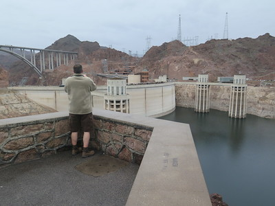 Lake Mead and Hoover Dam March 2, 2015