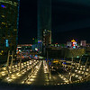 The view from my room at the Aria in Las Vegas