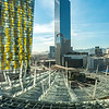 Daytime view from my room at the Aria