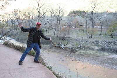Dad at Zion