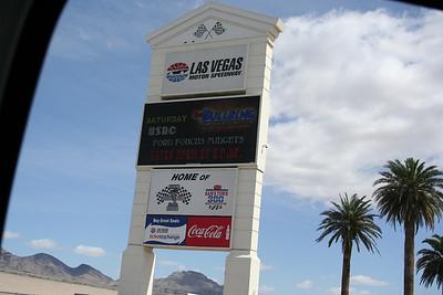 Las Vegas Nascar Race Track.