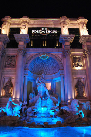 The Forum Shops at Caesars Palace.